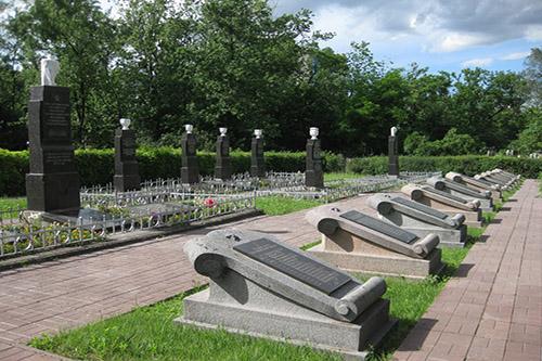 Russische & Poolse Oorlogsgraven Kiev