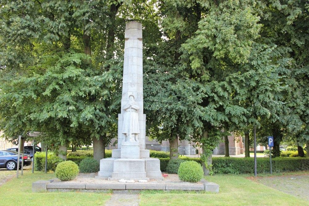 Oorlogsmonument Langemark