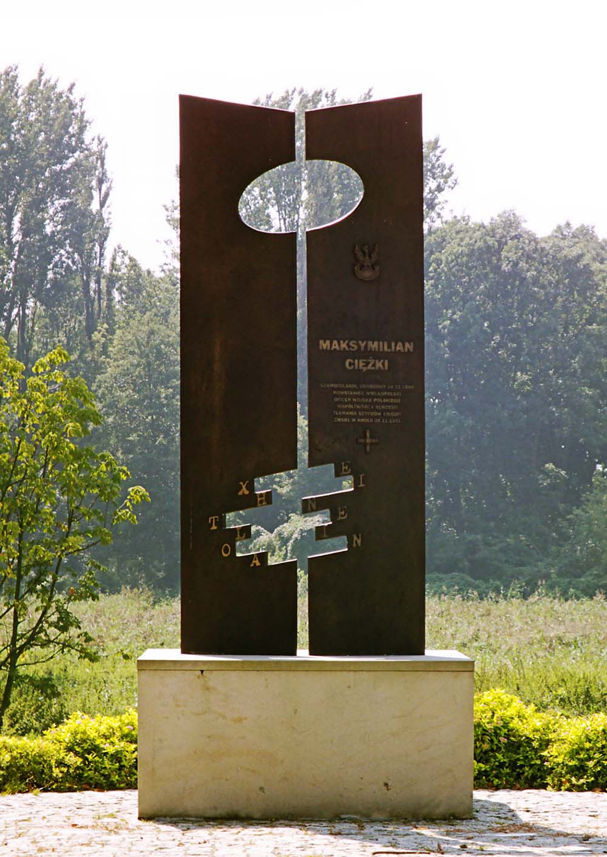Memorial Lieutenant Colonel Maksymilian Ciezki
