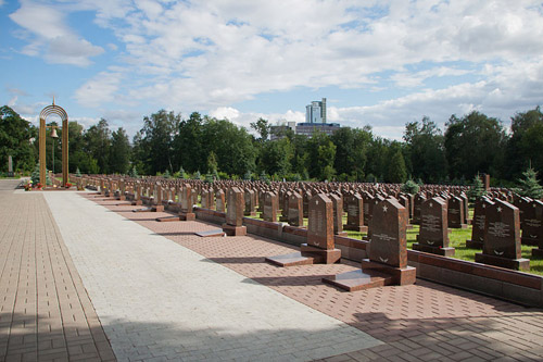 Sovjet Oorlogsgraven Preobrazhenskoye