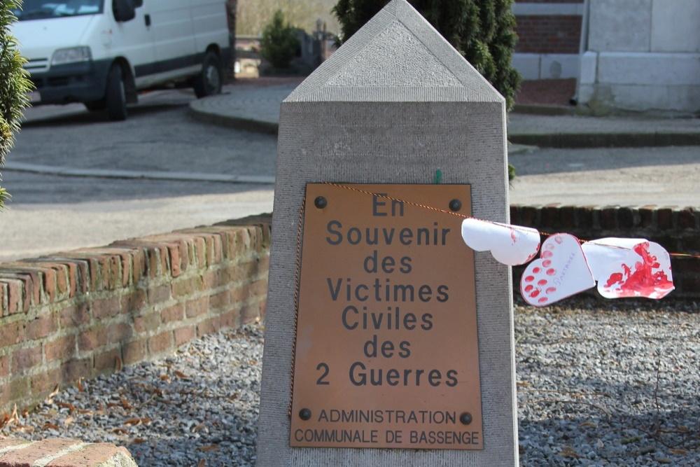 Gedenkzuil Burgerslachtoffers Emael
