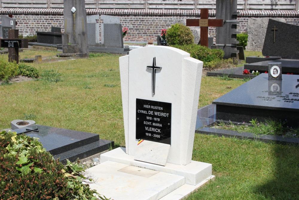 Graven Oudstrijders Bachte-Maria-Leerne