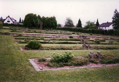 Duitse Oorlogsbegraafplaats Zweibrücken