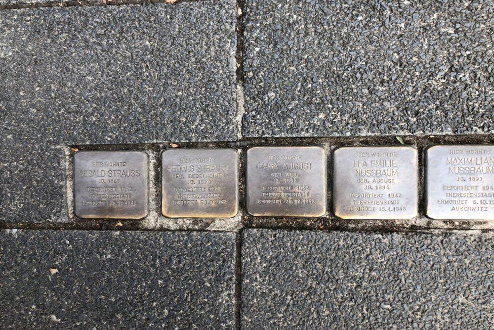 Stumbling Stones Bahnhofstraße 46