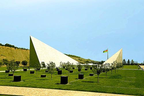 Monumentencomplex Quba Genocide