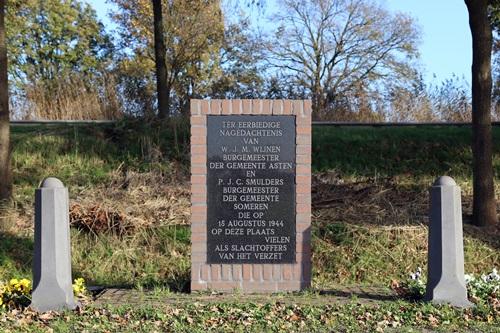 Monument Burgemeesters Asten en Someren