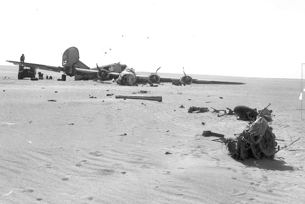 Crash Site Consolidated B-24D