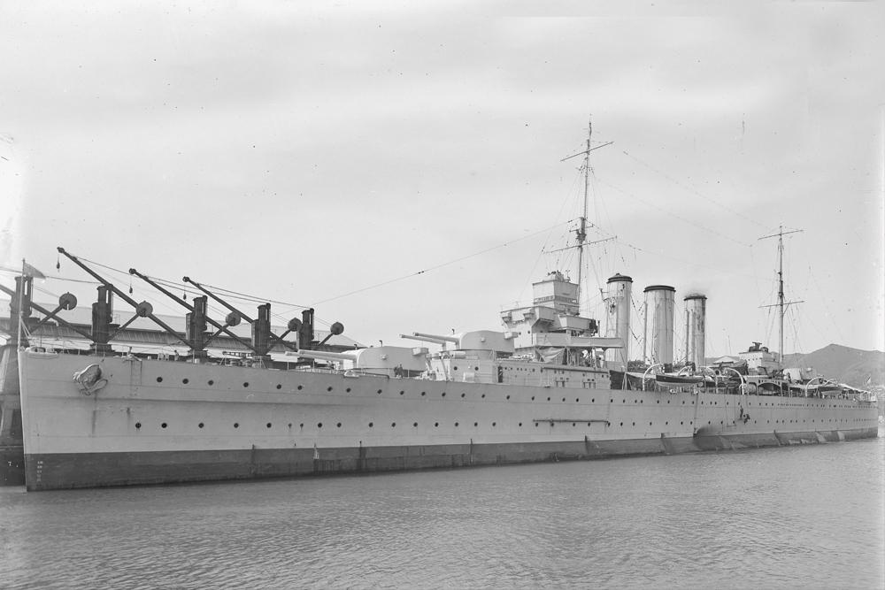 Scheepswrak HMAS Canberra (D33)