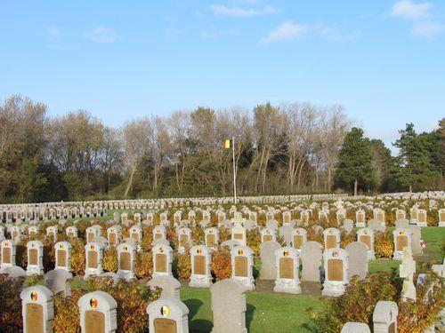 Belgische Oorlogsbegraafplaats De Panne