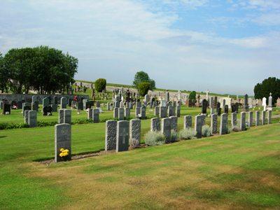 Commonwealth War Graves Rosskeen Parish Churchyard