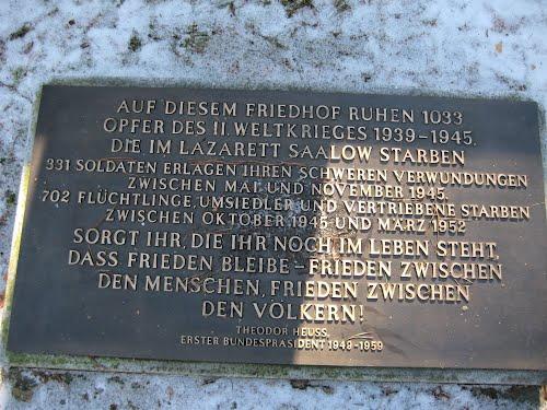 German War Cemetery Saalow