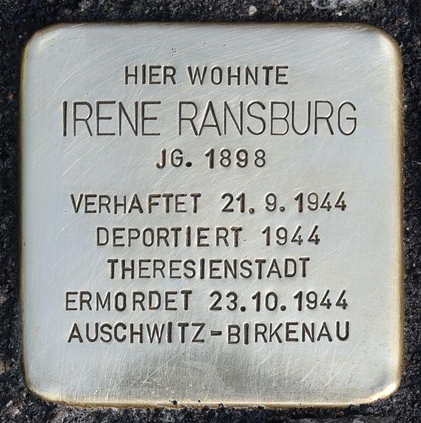 Stolperstein Leonhardstraße 130