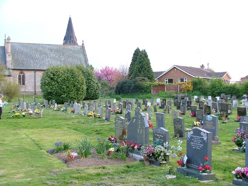 Oorlogsgraf van het Gemenebest St Matthew Churchyard