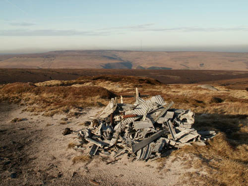 Crash Site & Wreckage Defiant Fighter Bleaklow Hill