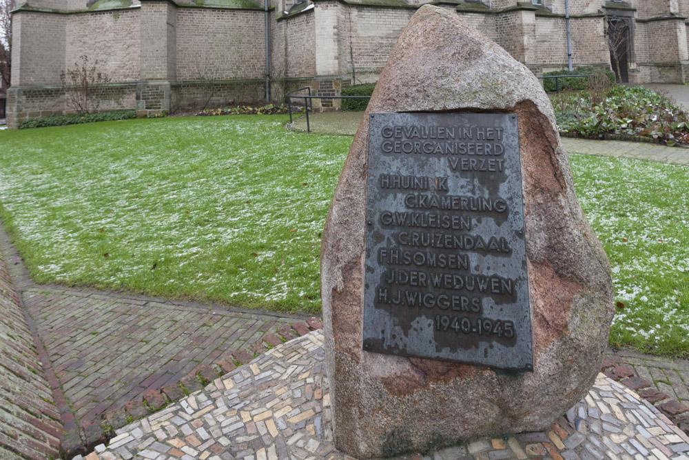 Memorial Resistance Fighters Aalten