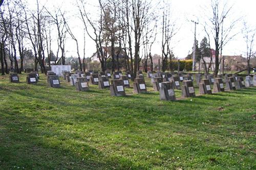 Soviet War Cemetery Szombathely