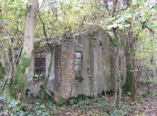 Remains Military Hospital Withington Woods