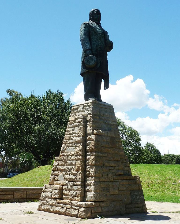 Statue of Paul Kruger