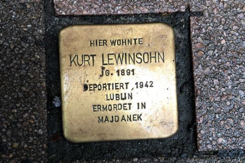 Stolperstein Herderstraße 28