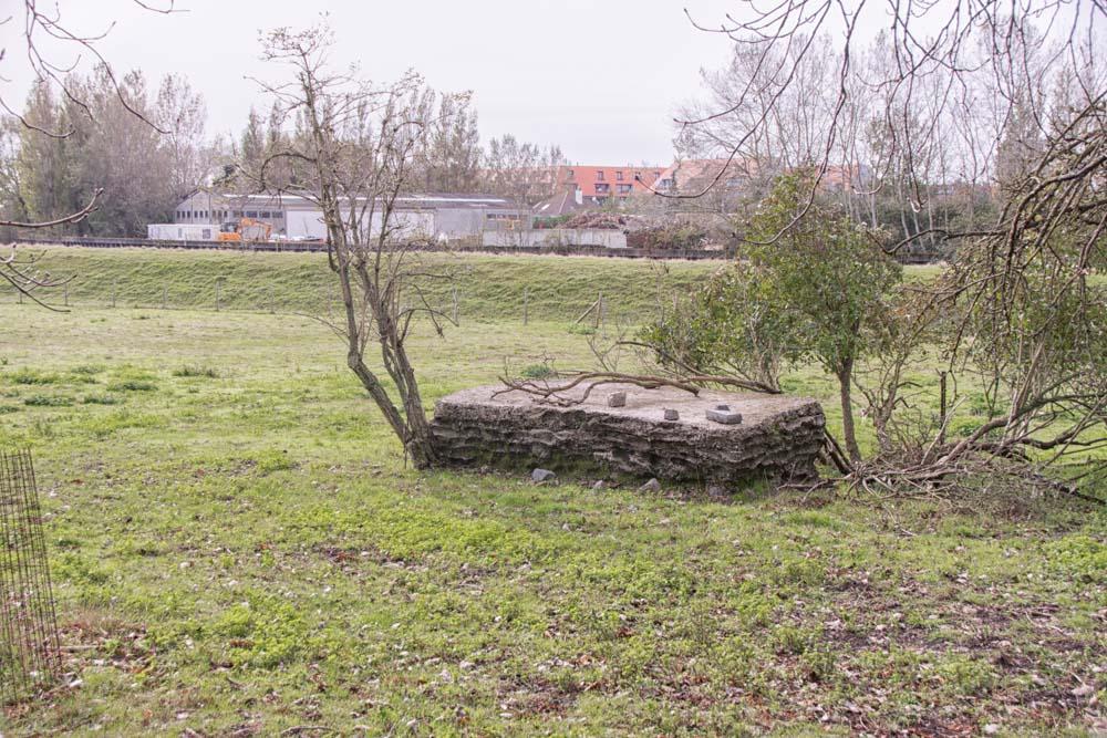 Belgian Explosive Storage Site W.O. I Nieuwpoort