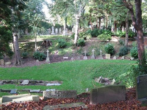 Commonwealth War Graves Manor Road Cemetery