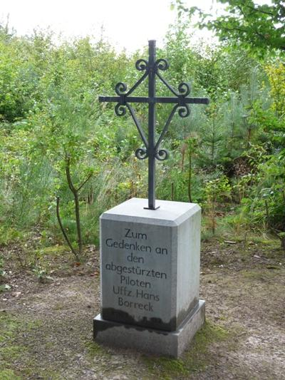 Remembrance Cross Uffz. Hans-Joachim Borreck
