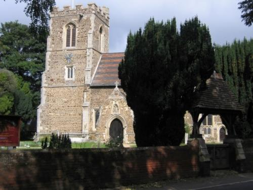 Commonwealth War Graves All Saints Churchyard
