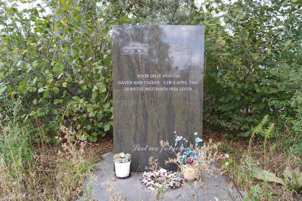 Monument Omgekomen Britse Soldaten Enschede