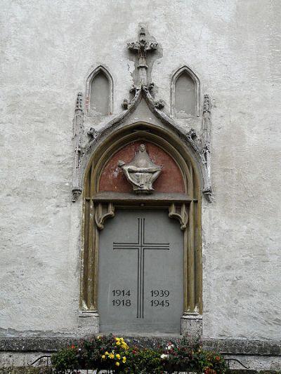 Oorlogsmonument Braunau am Inn