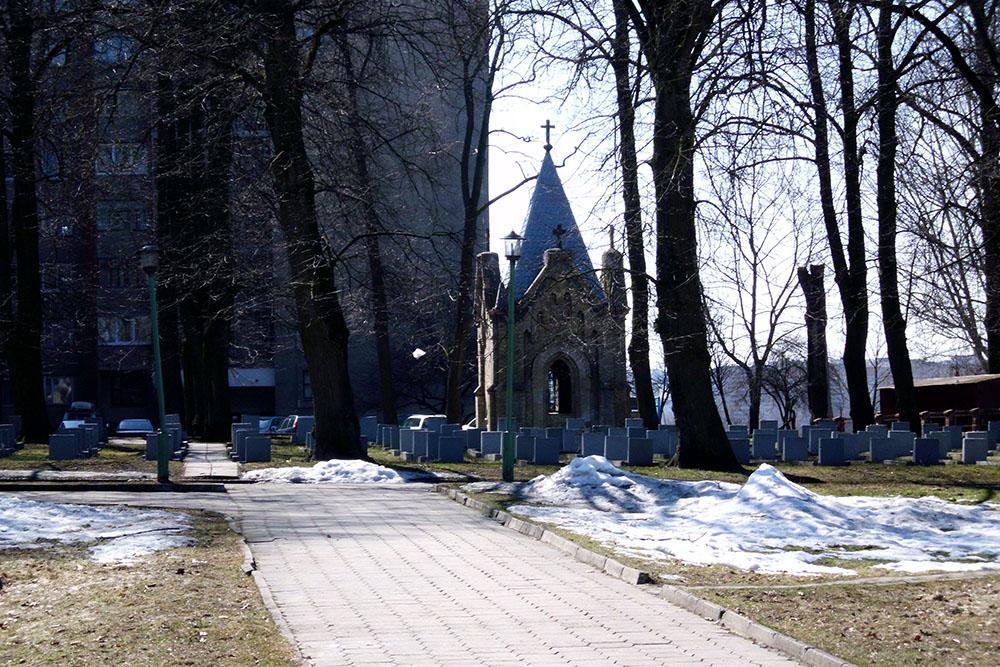 Garrison Cemetery Grodno