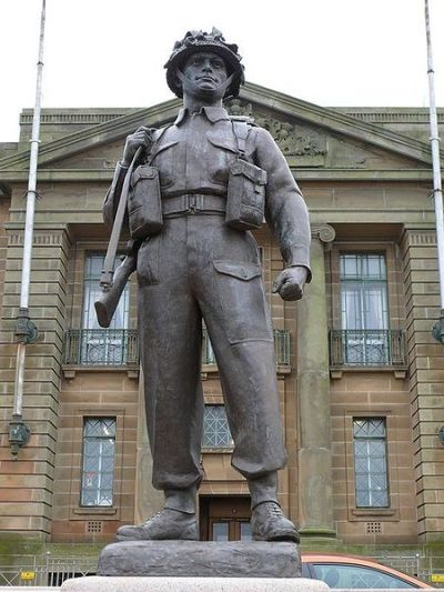Monument Royal Scots Fusiliers