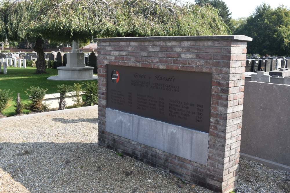 Memorial & Graves Killed Deported Communal Cemetery Hasselt