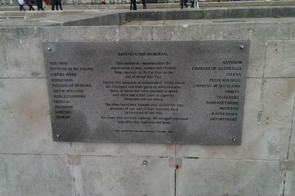 Monumenten Maritieme Geschiedenis Liverpool