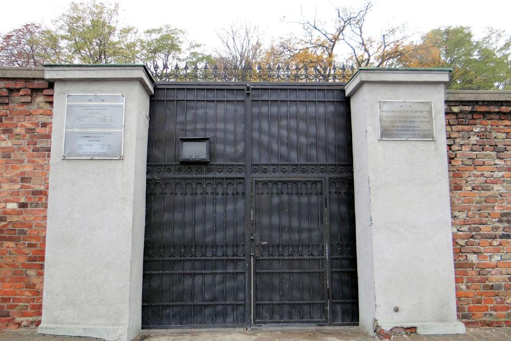Jewish Cemetery Powzaki Warsaw