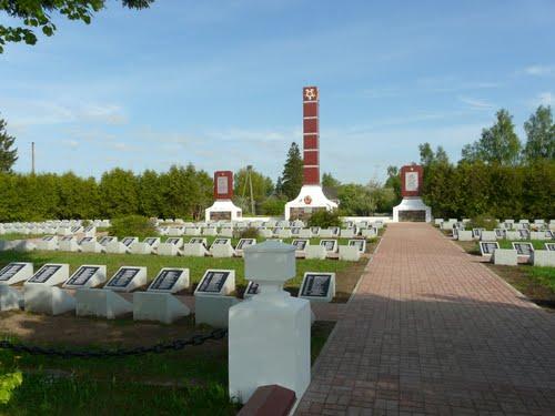 Sovjet Oorlogsbegraafplaats Vainode