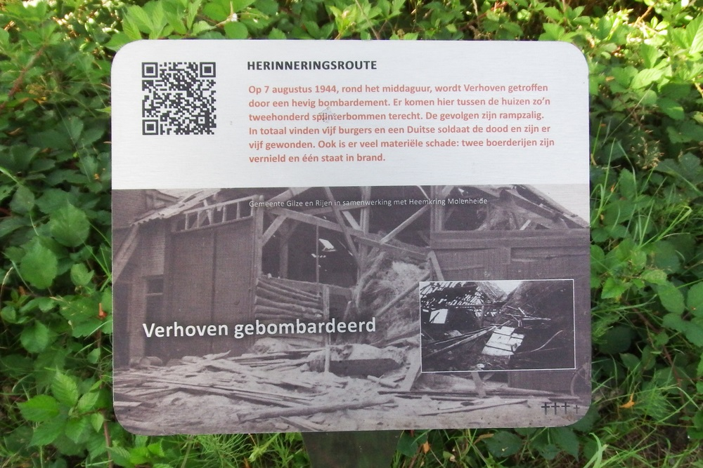 Memory Route World War ll Verhoven Bombed
