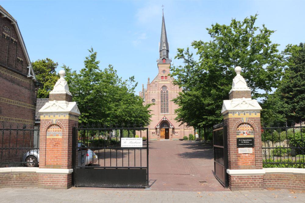 Nederlandse Oorlogsgraven Rooms Katholieke Begraafplaats St. Barbara