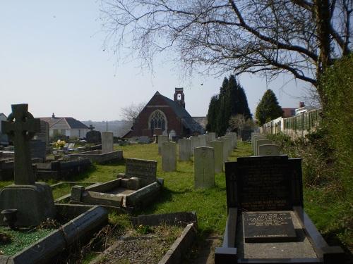 Oorlogsgraven van het Gemenebest St Hilary of Poitiers Churchyard