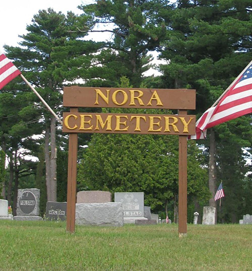 Amerikaans Oorlogsgraf Nora Cemetery