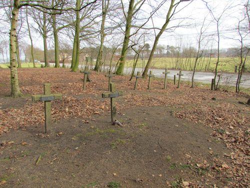 Graven Belgische Vluchtelingen Doomkerke