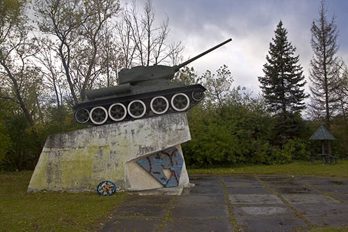 Memorial Moscow Frontline (T-34/85 Tank)