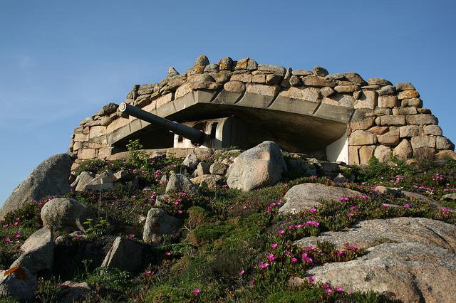 Artillery Bunker 1 of Batería de El Grove