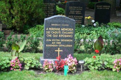 Italiaanse Oorlogsgraven Berlijn-Friedrichsfelde