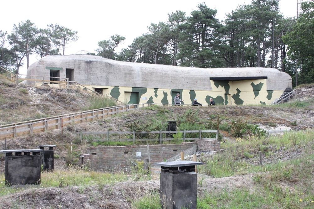 Duitse Radarstelling Tiger - Commandobunker Bertha Type St. L487