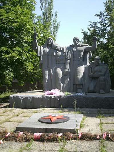 Soviet War Cemetery Kostiantynivka