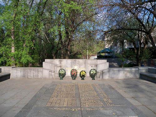 Mass Grave Soviet Soldiers Kremenchug