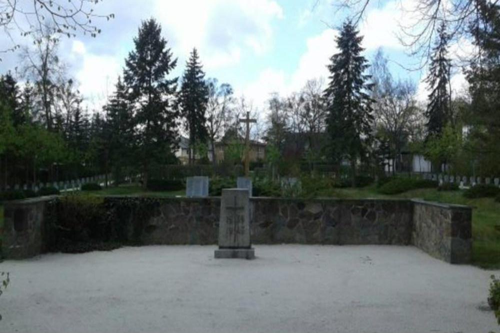 Duitse Oorlogsgraven Evangelisch Kerkhof St. Marien