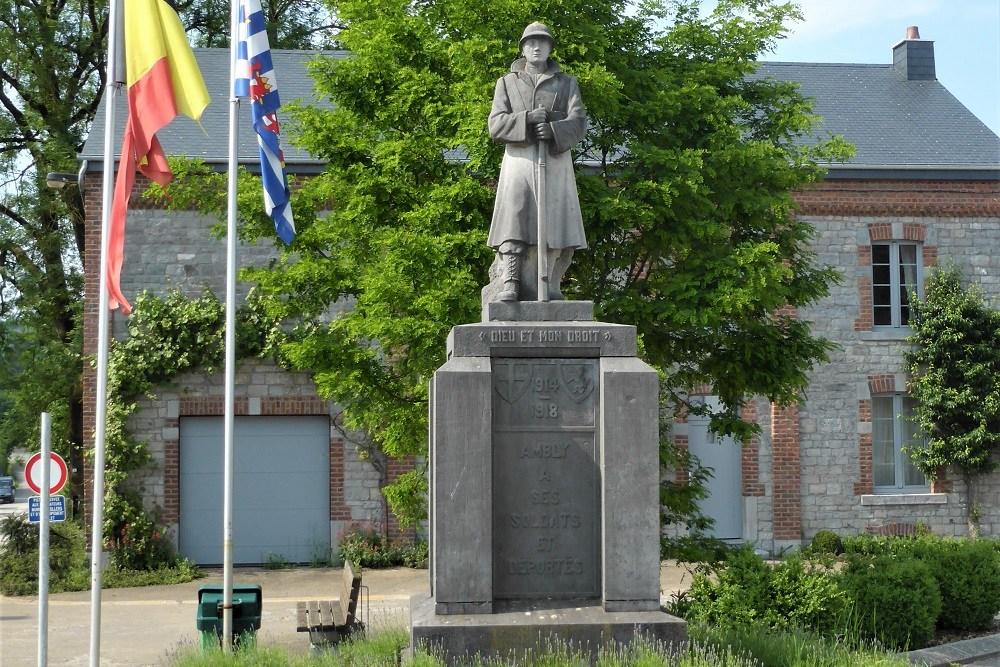 War Memorial Ambly