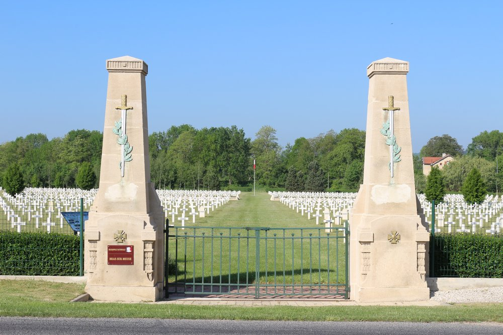 French War Cemetery Bras-sur-Meuse