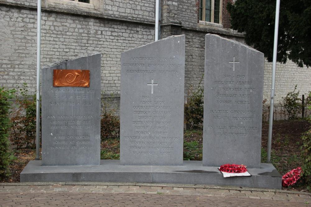 War Memorial Zingem
